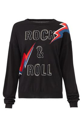 Rock And Roll Sweatshirt by Zadig & Voltaire