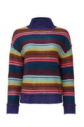 Multi Striped Sweater by Caslon