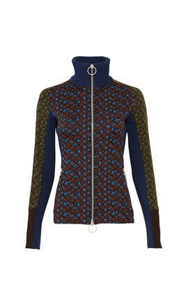 Printed Zip Sweatshirt by Marni