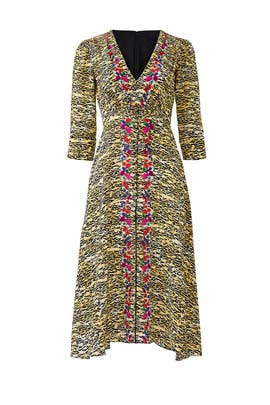 Printed Eve Dress by SALONI