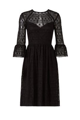 Black Everdine Dress by Trina Turk