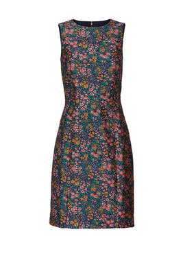 Valerie Jacquard Dress by J.Crew