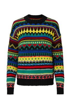 Absract Fair Isle Sweater by Polo Ralph Lauren