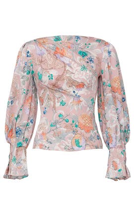 Silk Draped Blouse by Peter Pilotto