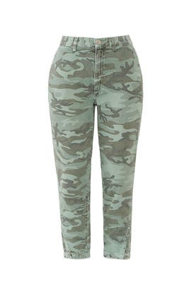 Camo Slouch Trousers by AMO