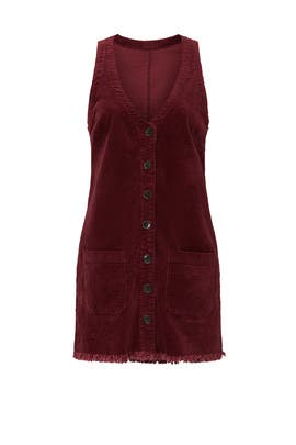 Maroon Mabel Mini Dress by Show Me Your Mumu