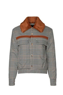 Check Jacket by Staud