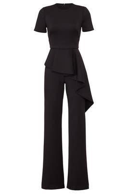Ruffled Myles Jumpsuit by Black Halo