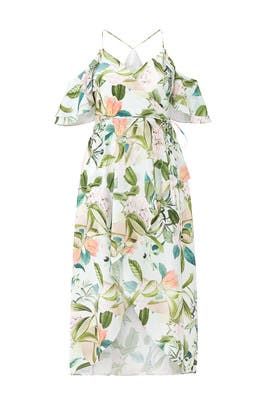 Fresh Floral Maxi Dress by City Chic