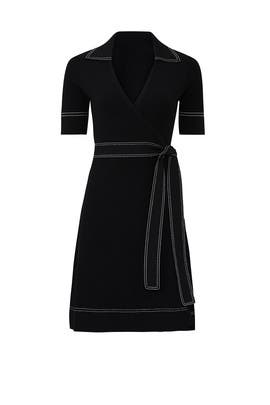 Liv Wrap Dress by Diane von Furstenberg
