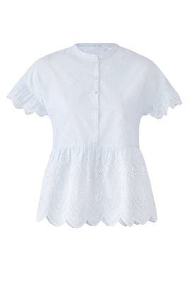 Eyelet Cerelia Top by Joie