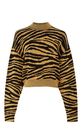 Tiger Knit Sweatshirt by Proenza Schouler