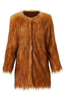 Wanderlust Faux Fur Coat by Unreal Fur