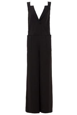 Black Work Jumpsuit by Vera Wang