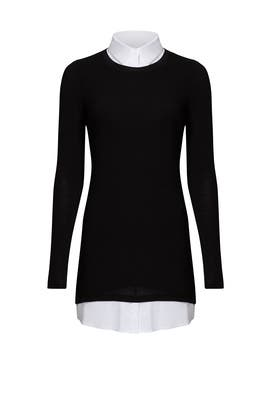 Black Collared Sweater by Bailey 44