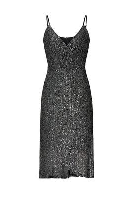 Black Sequin Joelle Dress by cupcakes and cashmere