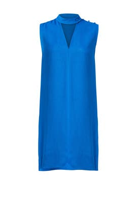 Blue Collar Shift Dress by Derek Lam 10 Crosby