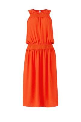 Orange Misha Dress by dRA