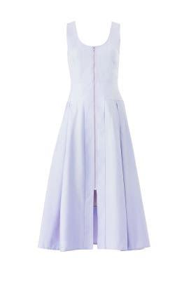 Lavender Poppy Dress by Hunter Bell