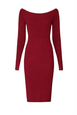 Off The Shoulder Sweater Dress by Jason Wu Collective