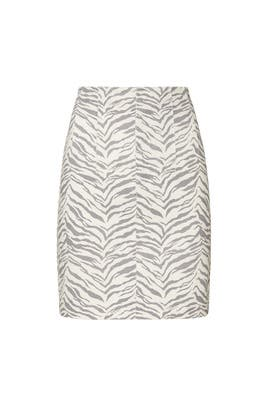 Ziger Denim Skirt by La Vie Rebecca Taylor