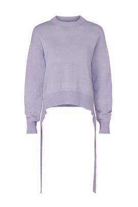 Purple TIe Sweater by MM6 Maison Margiela