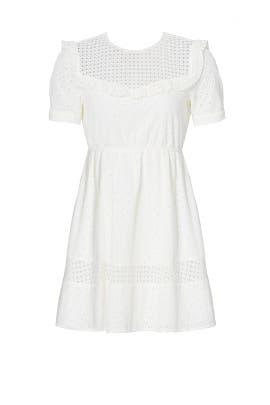 White Angeles Dress by Rebecca Minkoff