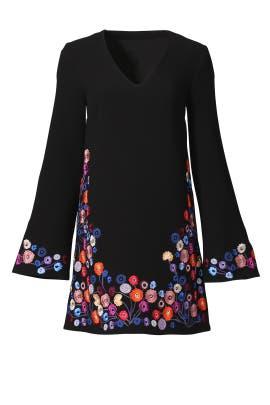 Black Nicolette Dress by Tanya Taylor
