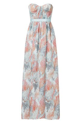 Printed Amber Gown by BCBGMAXAZRIA