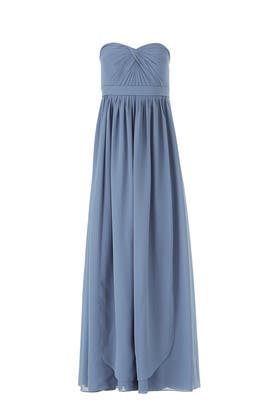 265005746 Blue Aidan Gown by Jenny Yoo for $40 - $55 | Rent the Runway