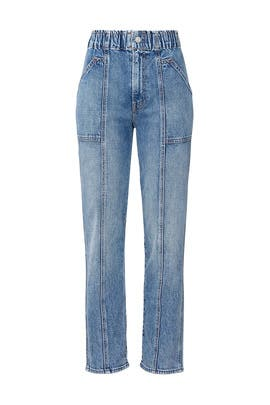 The Springy Ankle Jeans by MOTHER