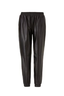 Leather Eavan Pants by Parker