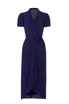 Meet And Greet Wrap Dress by Yumi Kim