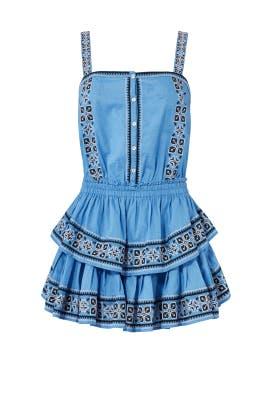 Blue Anna Dress by LoveShackFancy