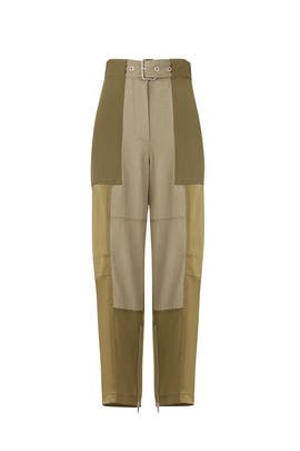 Patchwork Cargo Pants by 3.1 Phillip Lim