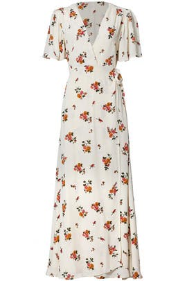 Floral Plaza Kimono Maxi by Privacy Please