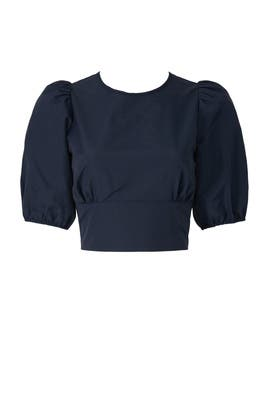 Open Back Crop Top by Peter Som Collective
