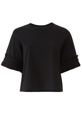 Black Embellished Top by See by Chloe