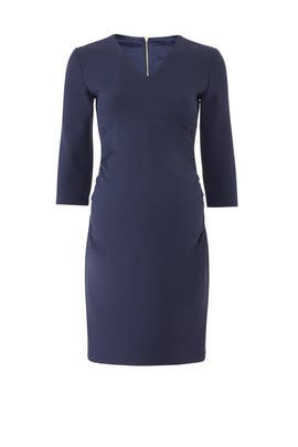 Navy Maternity Dress by Slate & Willow