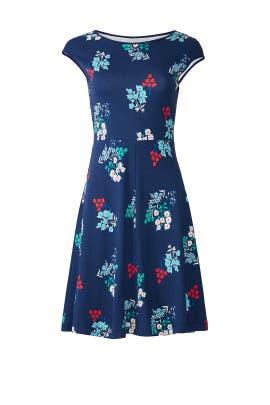 Floral Ponte A-Line Dress by Draper James