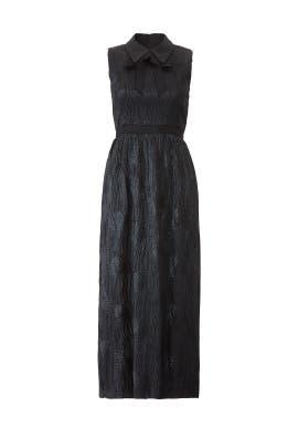 Black Diana Dress by Hunter Bell