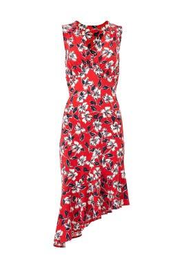 Isabella Flounce Hem Dress by Leota