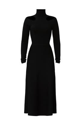 Black Cutout Dress by Jason Wu