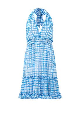 b32aded7f15213 Blue Gingham Cailee Dress by Lilly Pulitzer for $30 | Rent the Runway