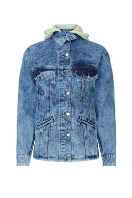 Zinna Hooded Denim Jacket by Samantha Sipos