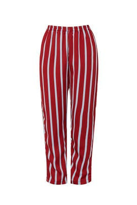 Red Stripe Pants by Sweet Baby Jamie