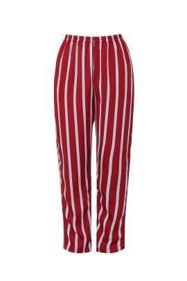 Red Stripe Pants by Sweet Baby Jamie