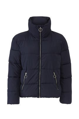 Blue Puffer Jacket by Slate & Willow