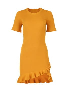 Yellow Tulum Dress by A.L.C.