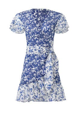 Floral Success Wrap Dress by ba&sh
